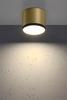 Lampa sufitowa złoto czarna 8,8x7,5cm Tuba Candellux 2275956