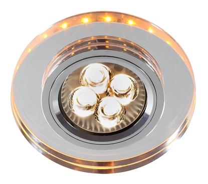 Oprawa stropowa okrągła bursztynowa LED oczko GU10 SS-23 Candellux 2238234