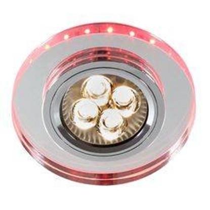 Oprawa stropowa czerwono-różowa okrągła GU10 + LED SS-23 Candellux 2238241