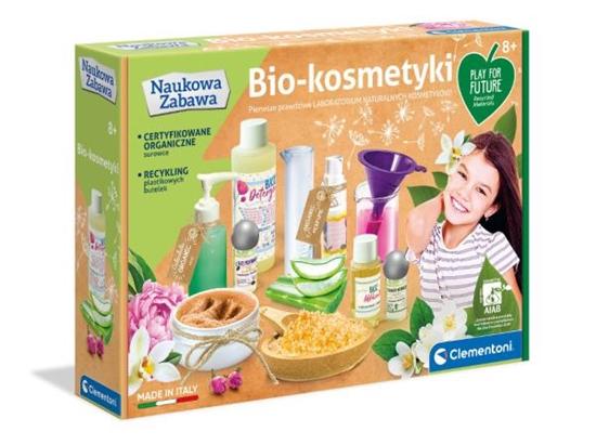 Clementoni Naukowa zabawa. Zestaw kosmetyków BIO 50658 (50658 CLEMENTONI)
