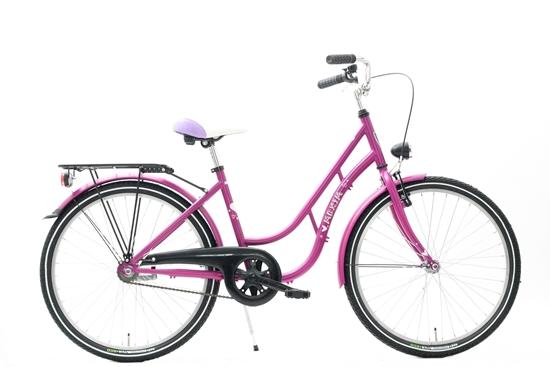 """Rower MAXIM 24"""" MJ 4.6 1-s ECO różowy"""