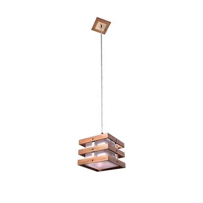 Altalusse Lampa wisząca INL-9215P-1Antique brass & Walnut
