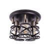 Altalusse Lampa sufitowa INL-6146C-05 Antique Brass & Wengue