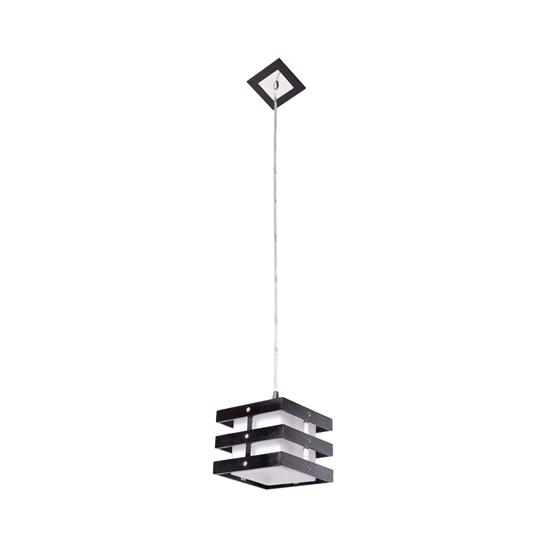 Altalusse Lampa wisząca INL-9215P-1 Chrome & Wengue