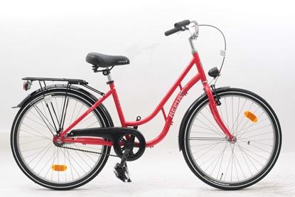 """Rower MAXIM 24"""" MJ 4.6 1-s ECO czerwony"""