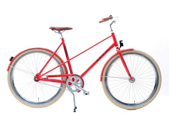 """Rower MAXIM 28"""" MC 1.5 LTD 1-s czerwony"""