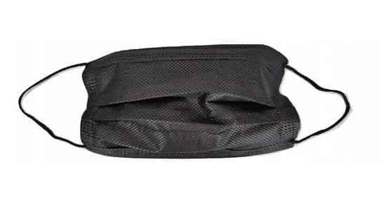 50x Maska maseczka ochronna 3W czarna premium hydronina