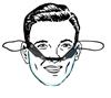 Mini półmaska ochronna osłona ust nosa bezpieczna
