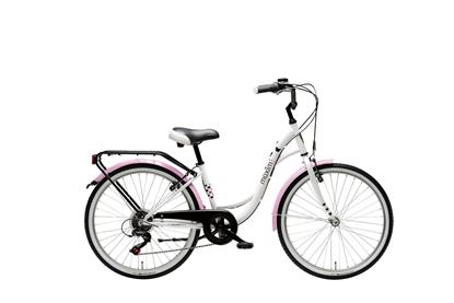 """Rower MAXIM 24"""" MJ 4.3 biały"""
