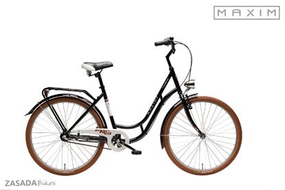 """Rower MAXIM 28"""" MC 0.4.3 czarny"""