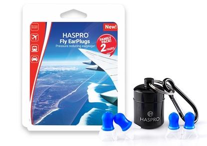 HASPRO FLY FAMILY PACK – 2 PARY - Zatyczki do uszu do samolotu