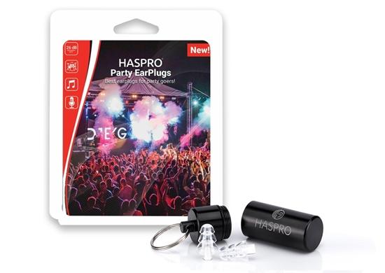 HASPRO PARTY UNIVERSAL Zatyczki do uszu na koncert lub imprezę