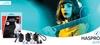 HASPRO PURE MUSIC UNIVERSAL BLUE - Zatyczki do uszu dla muzyków