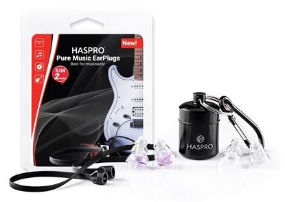 HASPRO PURE MUSIC UNIVERSAL VIOLET - Zatyczki do uszu dla muzyków