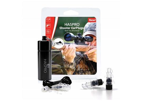 HASPRO SHOOTER UNIVERSAL - Zatyczki do uszu dla strzelców