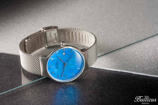 Zegarek Balticus - Sky Silver Blue Pearl