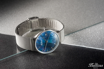 Zegarek Balticus - Sky Silver Dark Blue Pearl