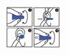 HASPRO MULTI10 – 10 PAR Niebieski - Zatyczki do uszu