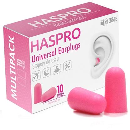 HASPRO MULTI10 – 10 PAR Różowy - Zatyczki do uszu