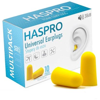 HASPRO MULTI10 – 10 PAR Żółty - Zatyczki do uszu