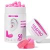 HASPRO TUBE50 – 50 PAR Różowy - Zatyczki do uszu 50 par