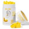 HASPRO TUBE50 – 50 PAR Żółty - Zatyczki do uszu 50 par