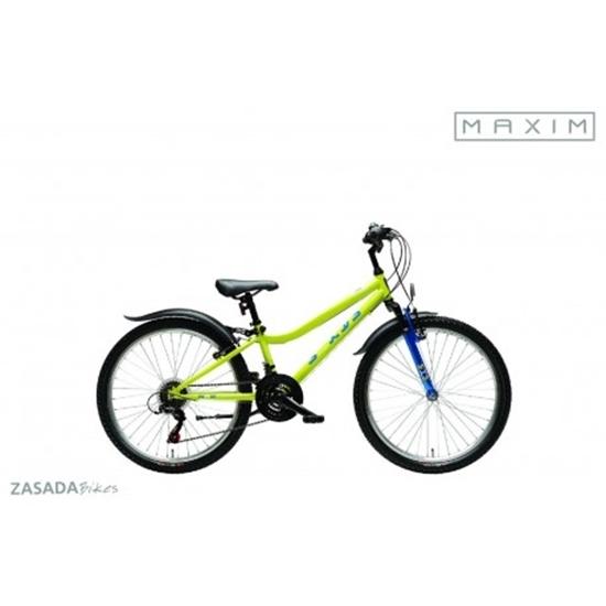 """MAXIM, Rower górski, MJ 4.4, 24"""", żółty"""