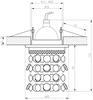 OPRAWA STROPOWA CANDELLUX SK-68 CH/RED MR16 CHROM OPR. STROP. DEKORACYJNA CZERWONA MR16 50W