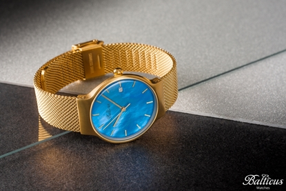 Zegarek Balticus - Sky Gold Blue Pearl