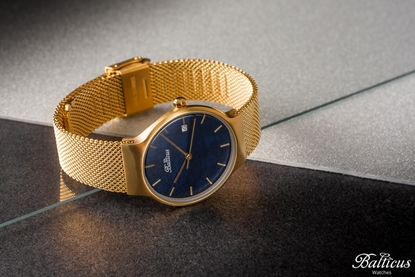 Zegarek Balticus - Sky Gold Dark Blue Pearl