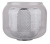 Lampa wisząca chromowa klosz z koszykiem 3x40W Ray Candellux 33-67074