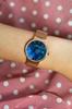 Zegarek Balticus - Sky Rose Gold Dark Blue Pearl