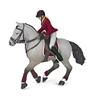 Papo 51563 Koń z amazonką na zawodach    16x10x19cm