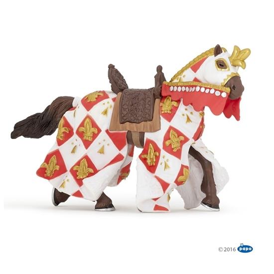 Papo 39789 Koń w białej szacie w lilie   15x6x9cm