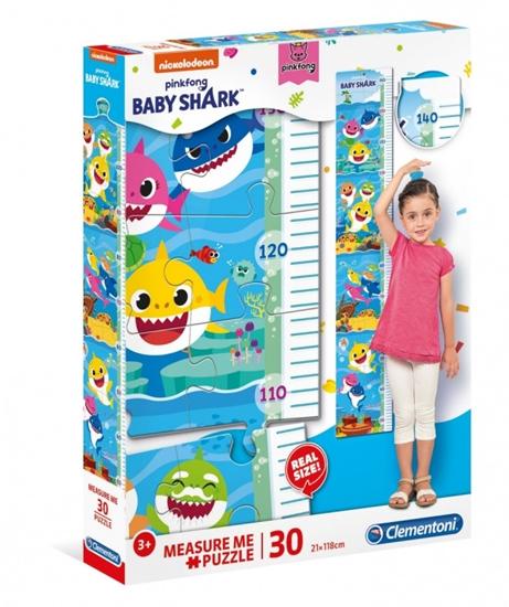 Puzzle 30 elementów Measure Me Baby Shark (GXP-743508)
