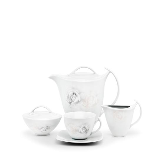 Garnitur do kawy 12/27 Akcent Zapach Rózy G839