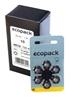 6x baterie do aparatów słuchowych ecopack Varta 10