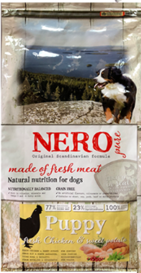 Sucha karma dla psa Nero Pure Puppy Fresh Chicken 2,5 kg