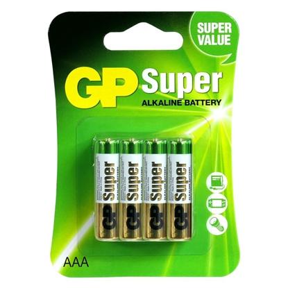 8 x bateria alkaliczna GP Super Alkaline LR03 / AAA