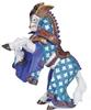 Papo 39937 Koń Mistrza broni z orlim czubem 17x6x9cm