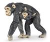 Papo 50194 Szympansica z młodym   6x3x5cm