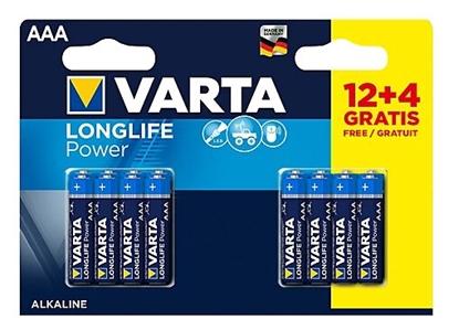 16 x Varta Longlife Power LR03/AAA 4903 (High Energy)