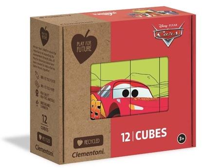 Puzzle Kostki - Auta (45001 CLEMENTONI)