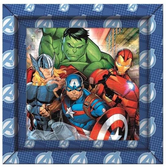 Puzzle 60 Frame Me Up Avengers (38801 CLEMENTONI)