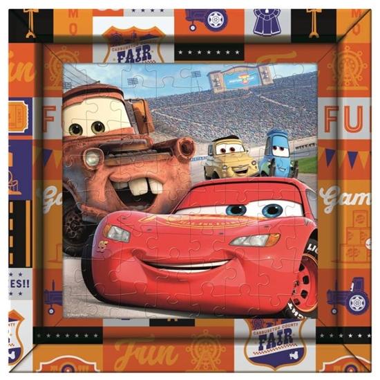 Puzzle 60 Frame Me Up Cars (38802 CLEMENTONI)