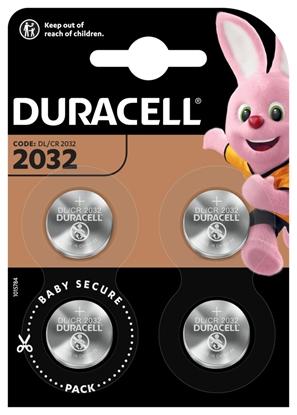 bateria litowa mini Duracell CR2032 DL2032 ECR2032 4BL