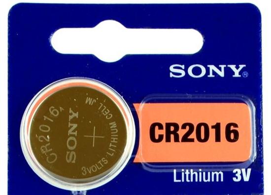 bateria litowa mini Sony CR2016