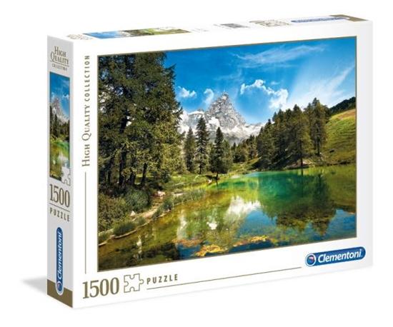 Clementoni Puzzle 1500el HQ Blue Lake 31680 p6, cena za 1szt. (31680 CLEMENTONI)