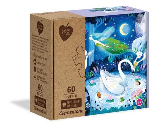 Clementoni Puzzle 60el Play for future Enchanted night 26997 (26997 CLEMENTONI)