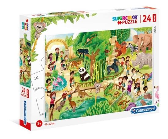 Clementoni Puzzle 24el Maxi Zoo 28505 (28505 CLEMENTONI)